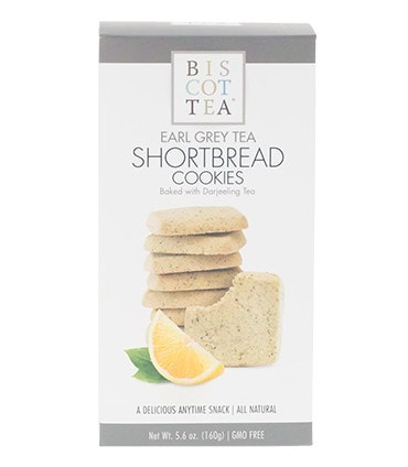 Biscottea Earl Grey Tea Shortbread