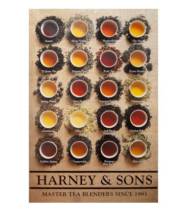 Harney & Sons Brewed Tea Poster