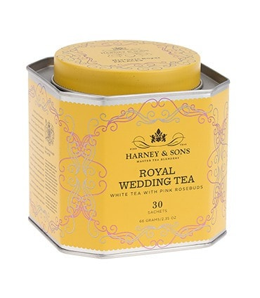 Royal Wedding Tea, HRP Tin of 30 Sachets