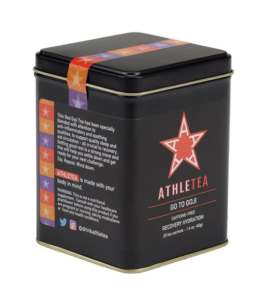 Go To Goji, Athletea Tin of 20 Sachets