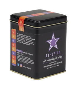 Get Your Passion Berry, Athletea Tin of 20 Sachets -   - Harney & Sons Fine Teas