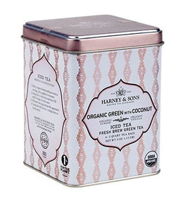 Organic Green with Coconut Fresh Brew Iced Tea -   - Harney & Sons Fine Teas