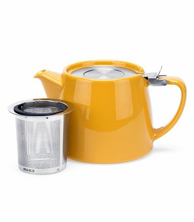 Stump Teapot with Infuser – Mandarin, 18 oz