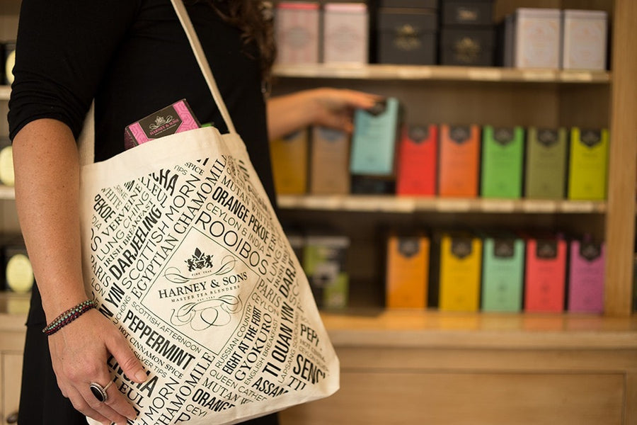 Harney & Sons Tote Bag - Default Title  - Harney & Sons Fine Teas