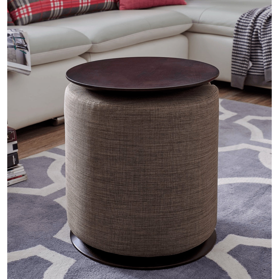 ... Monarch Side Table With Ottoman ...
