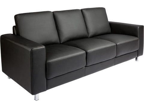 Scandi Love Sofa with Buffalo Leather