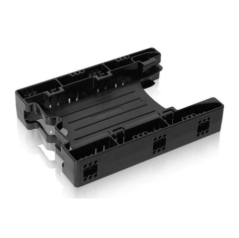 ICY DOCK EZ-Fit Lite MB290SP-B 2x 2.5 inch to 3.5 inch Drive Bay SATA/IDE SSD/HDD Mounting Kit / Bracket / Adapter (Black)