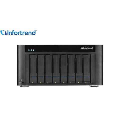 Infortrend EonStor GSe Pro 100 GSEP1080000D-8T 8-bay 8X8TB Entry Commercial Desktop Storage for SMB
