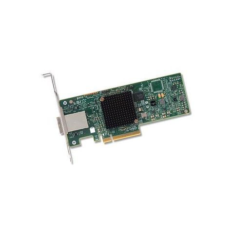 Broadcom LSI SAS 9300-8e 8-port 12Gb/s SATA+SAS PCI-Express 3.0 Low Profile Host Bus Adapter, Single