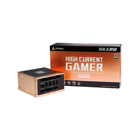 Antec High Current Gamer Extreme Series HCG850 EXTREME 850W 80 PLUS Gold ATX12V v2.4 Power Supply