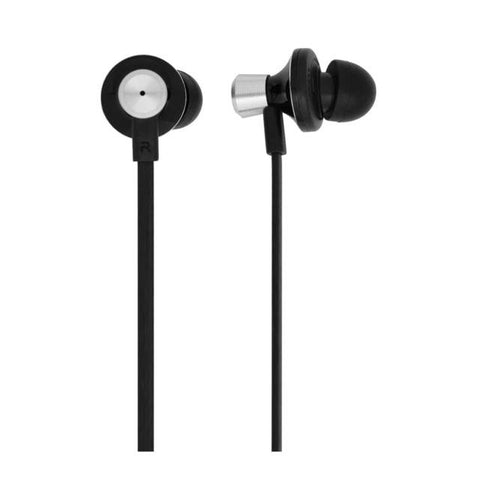 Bornd S630 Wired 3.5mm In-ear Stereo Earphone w/ Microphone (Black)