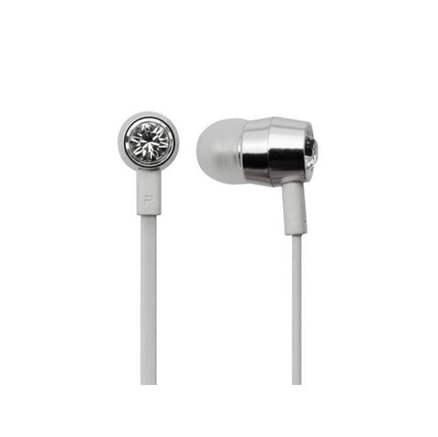 Bornd T620 Wired 3.5mm In-ear Stereo Earphone w/ Microphone (White)