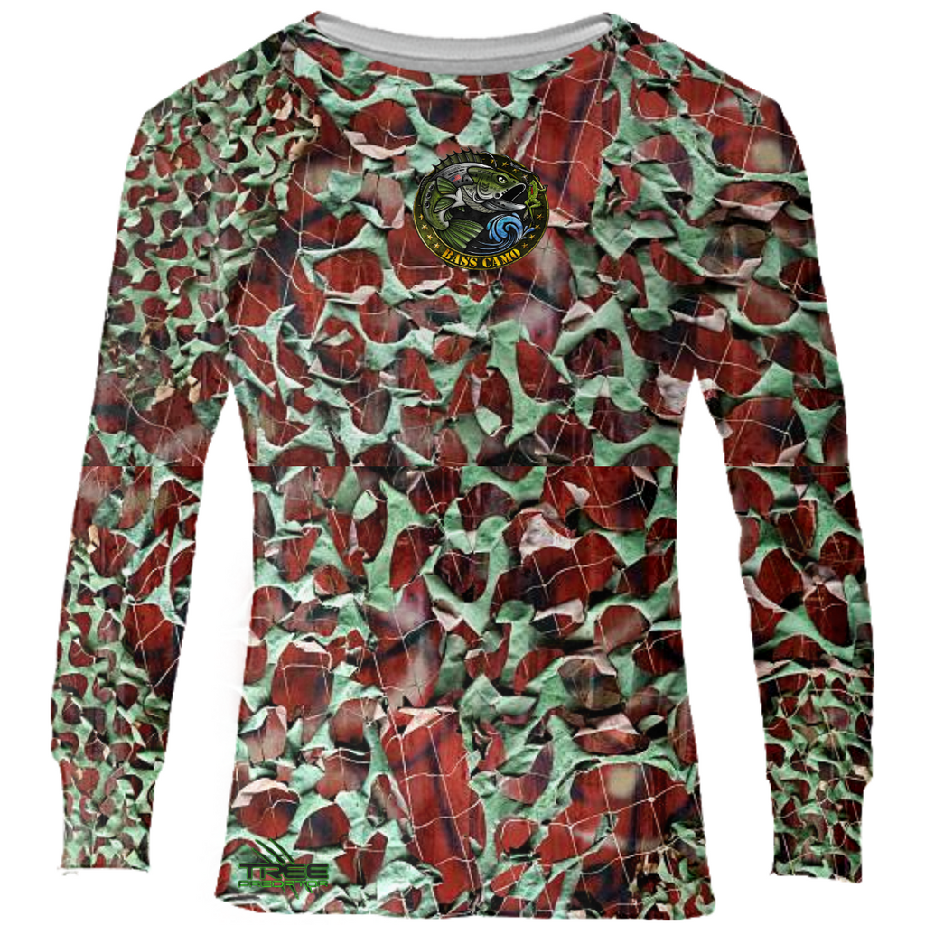 BASS CAMO LONG SLEEVE