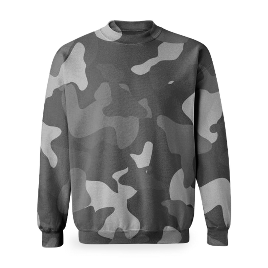 military design on long sleeve