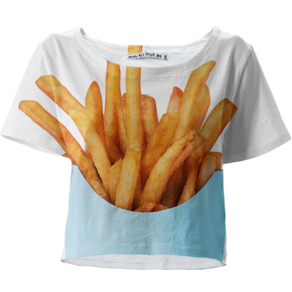 2 Fries Crop T