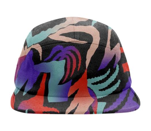 PAOM, Print All Over Me, digital print, design, fashion, style, collaboration, gambette, Baseball Hat, Baseball-Hat, BaseballHat, Djongle, cap, spring summer, unisex, Poly, Accessories
