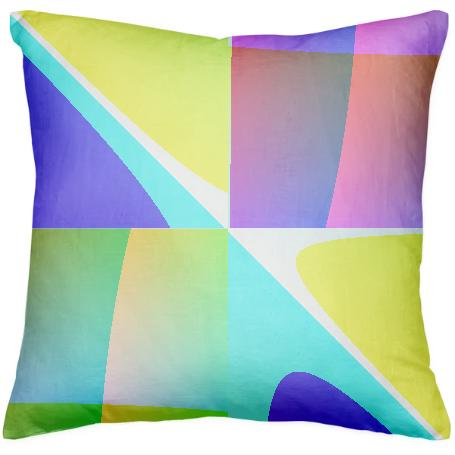 Abstract Geometry Pillow