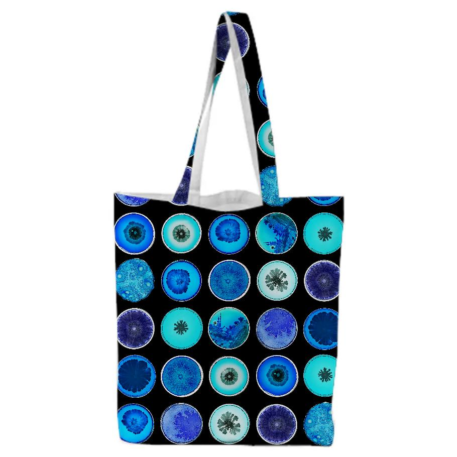 PAOM, Print All Over Me, digital print, design, fashion, style, collaboration, daninolab, Tote Bag, Tote-Bag, ToteBag, Variety, Petri, Dish, autumn winter spring summer, unisex, Poly, Bags