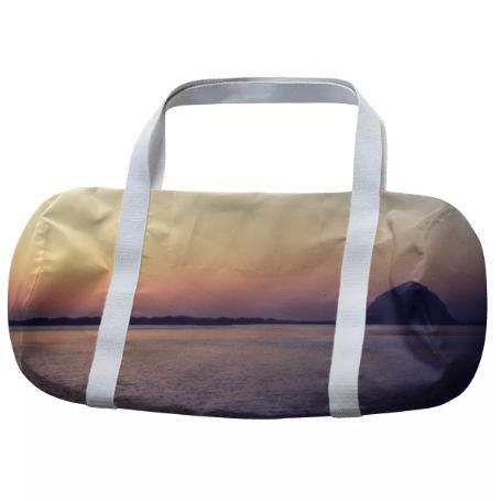 Morro Bay Sunset Duffle Bag