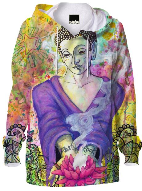 Party Rock Buddha Hoodie