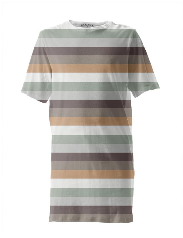 Mori Stripes Tall Tee