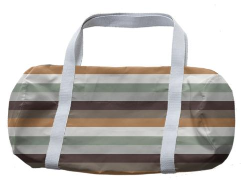 Mori Stripes Duffle