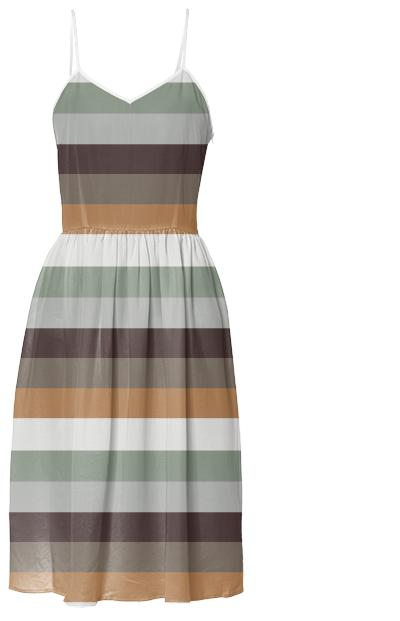 Mori Stripes Dress