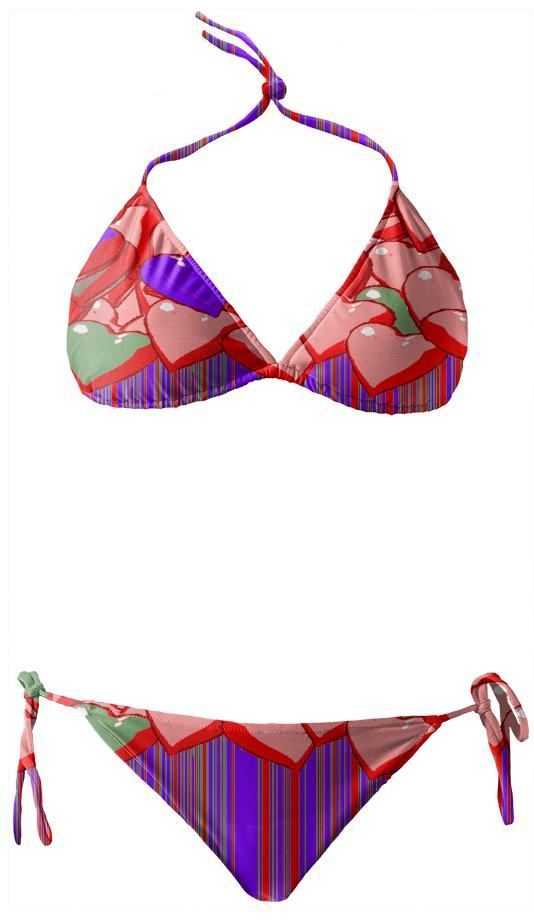 BLEEDING HEARTS SWIMWEAR