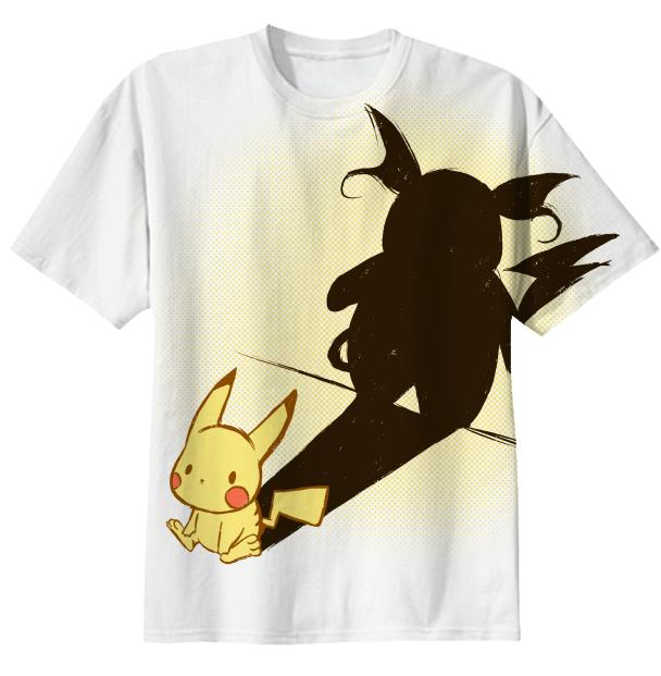 Pikachu s shadow