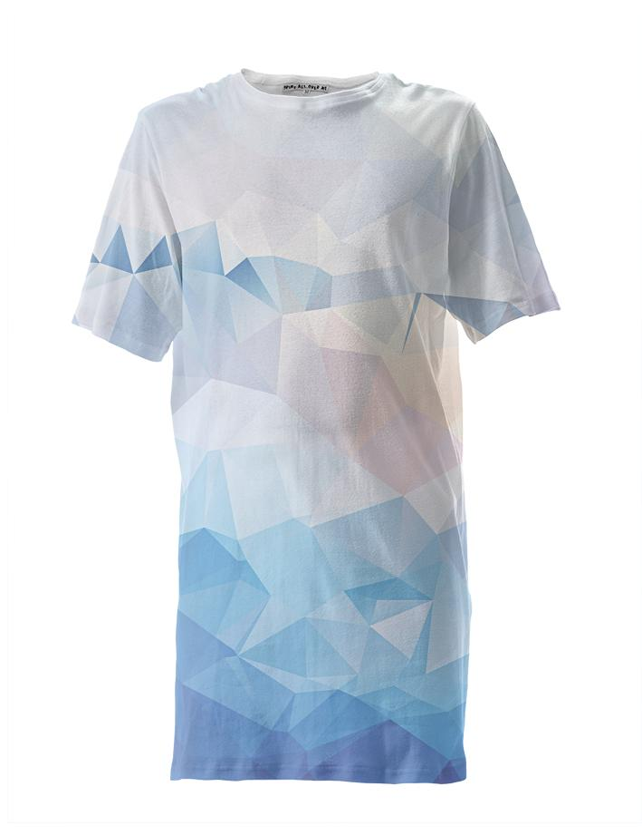 Abstract Triangle Tall Tee