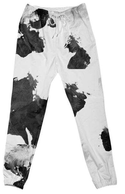 Black Untitled Pant