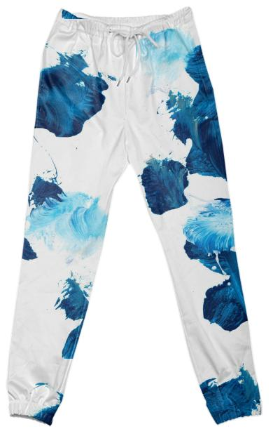 Blue Untitled Pant