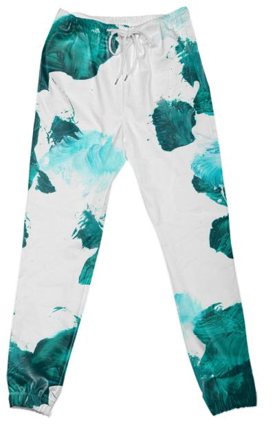 Green Untitled Pant