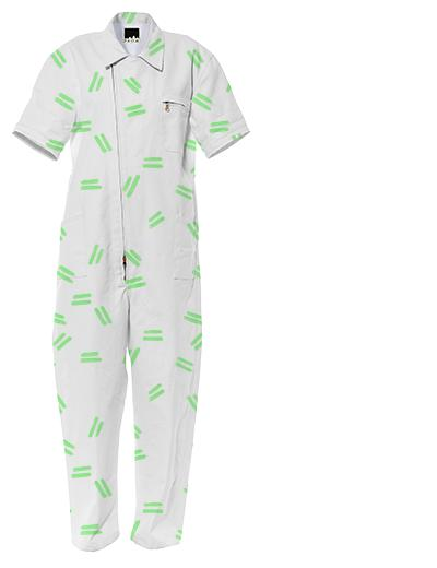 Green Dash Jumpsuit