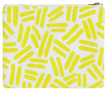 Yellow Dash Clutch