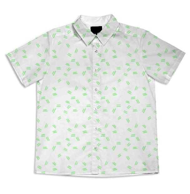 Green Mini Dash Shirt