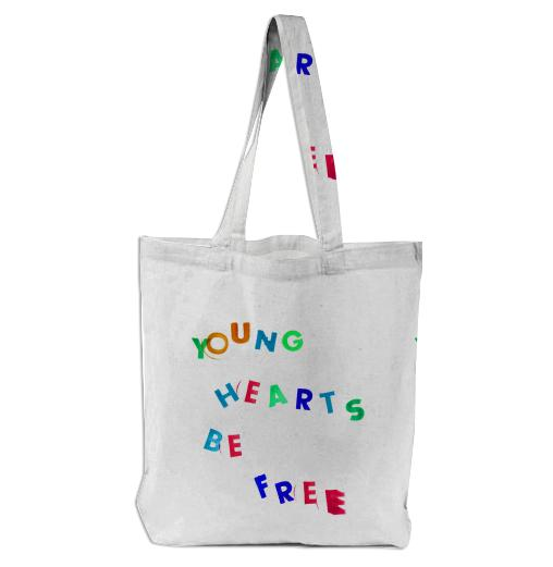 Young Hearts Be Free Bag