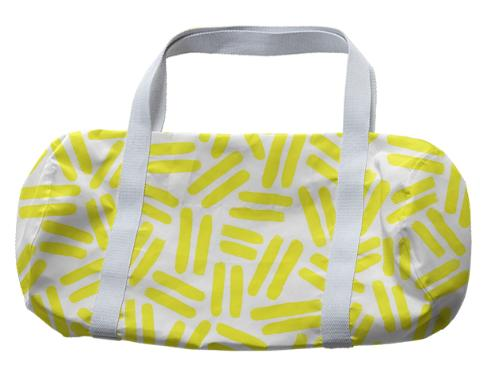 Yellow Dash Duffel