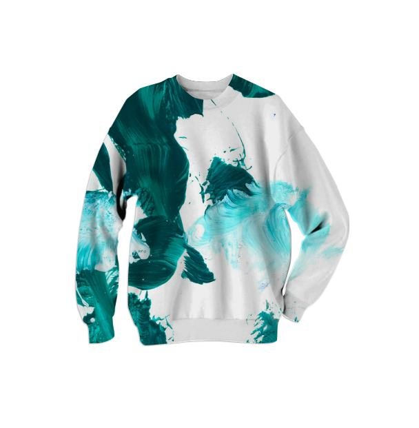Green Untitled Sweatshirt