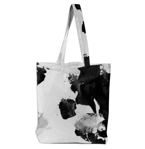 Black Untitled Tote