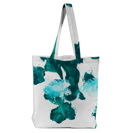 Green Untitled Tote