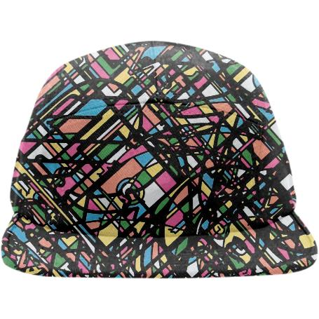 CANDY COATED ELECTRIC DREAM MACHINE The Baseball hat