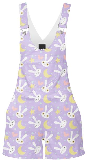 Magical Rabbit Overalls