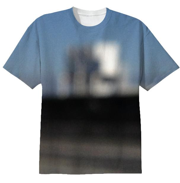 Blurry Building Tee