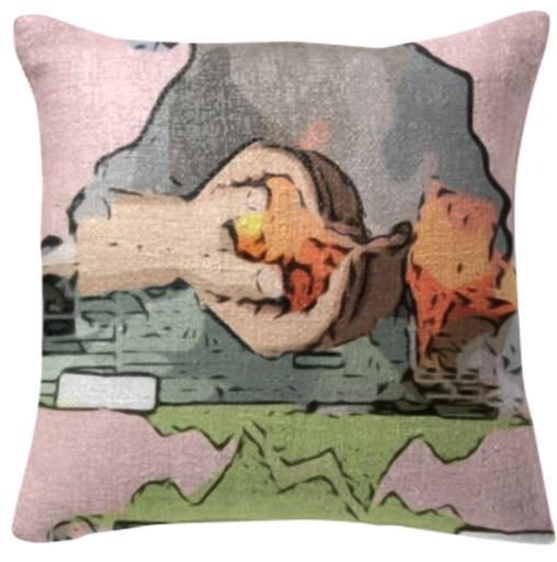 Pink Smother Pillow
