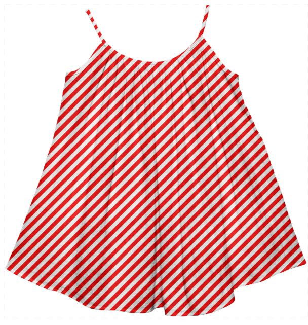 PAOM, Print All Over Me, digital print, design, fashion, style, collaboration, paomkids, Kids Tent Dress, Kids-Tent-Dress, KidsTentDress, Red, White, Small, Stripe, autumn winter spring summer, unisex, Cotton, Kids