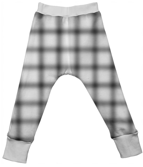 Blurry Grid Drop Pant