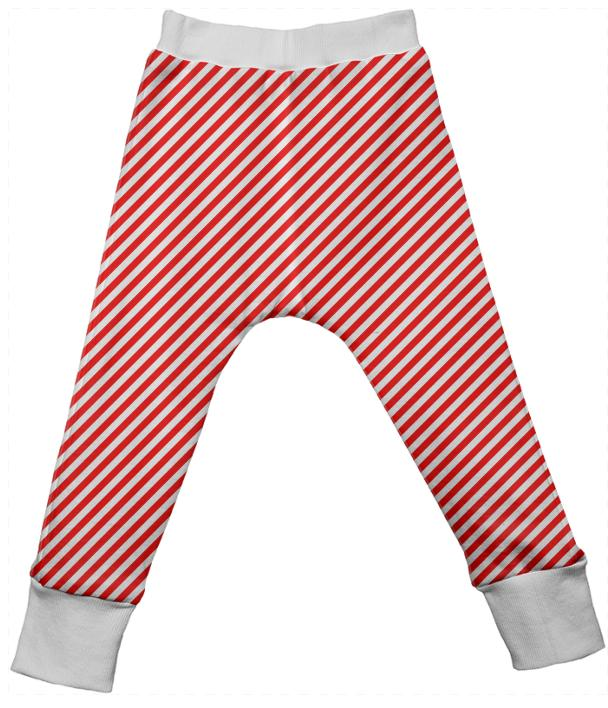 PAOM, Print All Over Me, digital print, design, fashion, style, collaboration, paomkids, Kids Drop Pant, Kids-Drop-Pant, KidsDropPant, Red, White, Small, Stripe, autumn winter spring summer, unisex, Poly, Kids