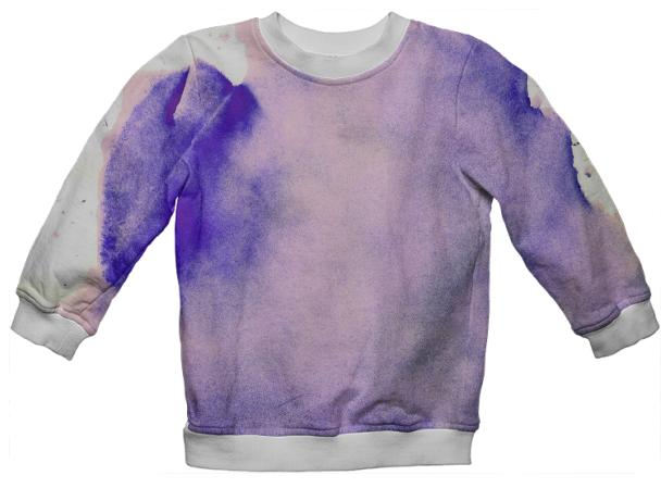 Purple Watercolor Sweatshirt