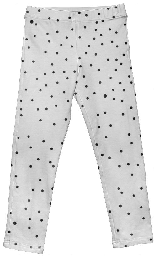 Black Dot Leggings